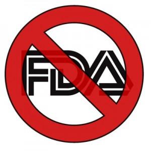 say no to the FDA